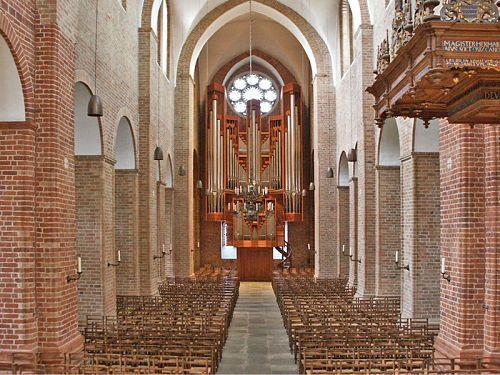 Rieger organ in Ratzeburg Cathedral