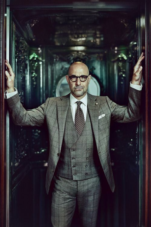 Stanley Tucci Source: The Rake Magazine Photography by Tomo Brejc source More menswear & suits!
