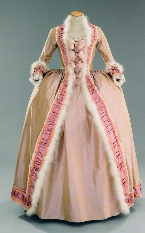 """Evening Dress worn by Kirsten Dunst in the film """"Marie Antoinette"""" (2006), set in the 18th Century."""