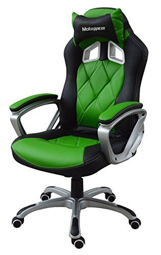 Cheap MotoRacer Gaming Chair Home Edition   The Best Ergonomic Racing Chair For Video Games   Racing Style Gamer Chair   Padded Armrest   Maximum Comfort   Adjustable Height   PU Leather   (Green) https://homeofficefurnitureusa.info/cheap-motoracer-gaming-chair-home-edition-the-best-ergonomic-racing-chair-for-video-games-racing-style-gamer-chair-padded-armrest-maximum-comfort-adjustable-height-pu-leather-green/