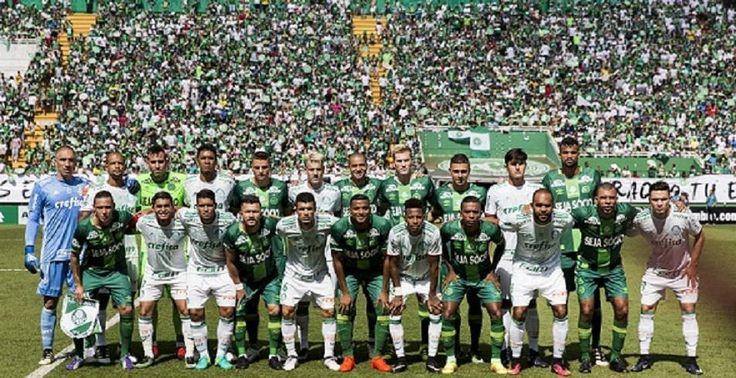 Com emoção, Chapecoense volta a jogar e empata com o Palmeiras