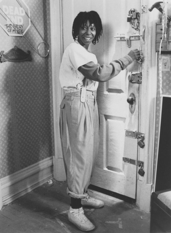Vintage Whoopi Goldberg. The (really are you dumb) look, would crack me up.