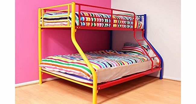 Harmony Beds Super Hero Multi Coloured Triple Sleeper Bunk Bed No description (Barcode EAN = 0616878841685). http://www.comparestoreprices.co.uk/bunk-beds/harmony-beds-super-hero-multi-coloured-triple-sleeper-bunk-bed.asp