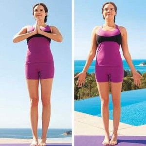 10 yoga poses anyone can do at home 1 tadasana this