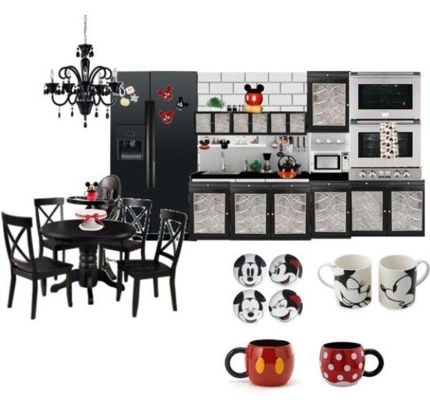 Mickey Mouse Kitchen Decor: 37 Best Images About Kitchen Decor Ideas On Pinterest