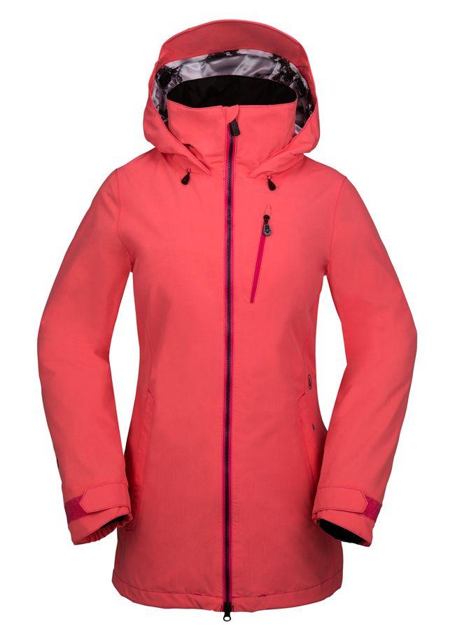 Volcom 2017 Colt Gore-tex Jacket Electric Pink - Womens