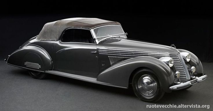 This particular car is the sole survivor of only three 4th-Series Asturas bodied in this style by Carrozzeria Boneschi of Milan, a company that had enjoyed close links with Lancia since its foundation by Giovanni Boneschi immediately after WWI. Chassis number '41-3215' features spectacular, aerodynamic cabriolet coachwork, which is complemented by an avant-garde radiator grille design, fold flat windscreen and rear wheel spats. The result is a beautiful motor car that looks like it is in…