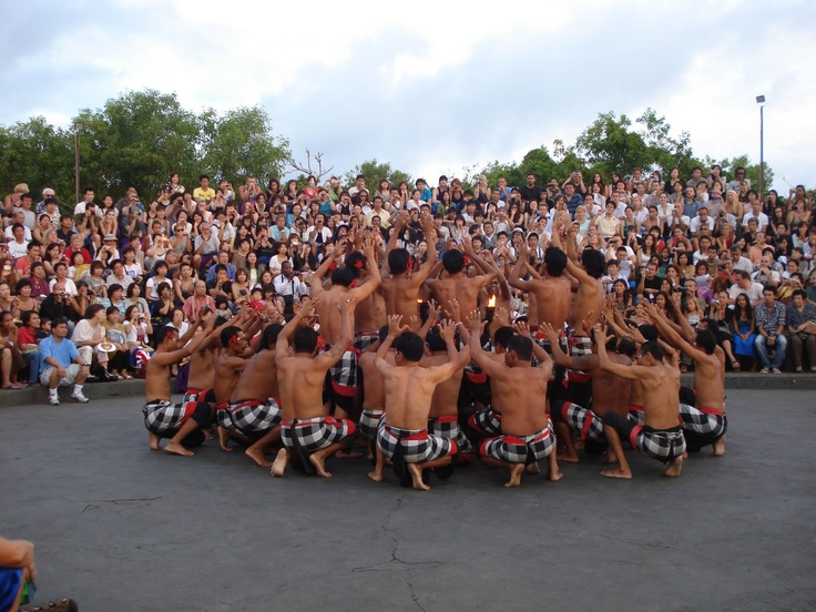 traditional dance ... kecak from bali