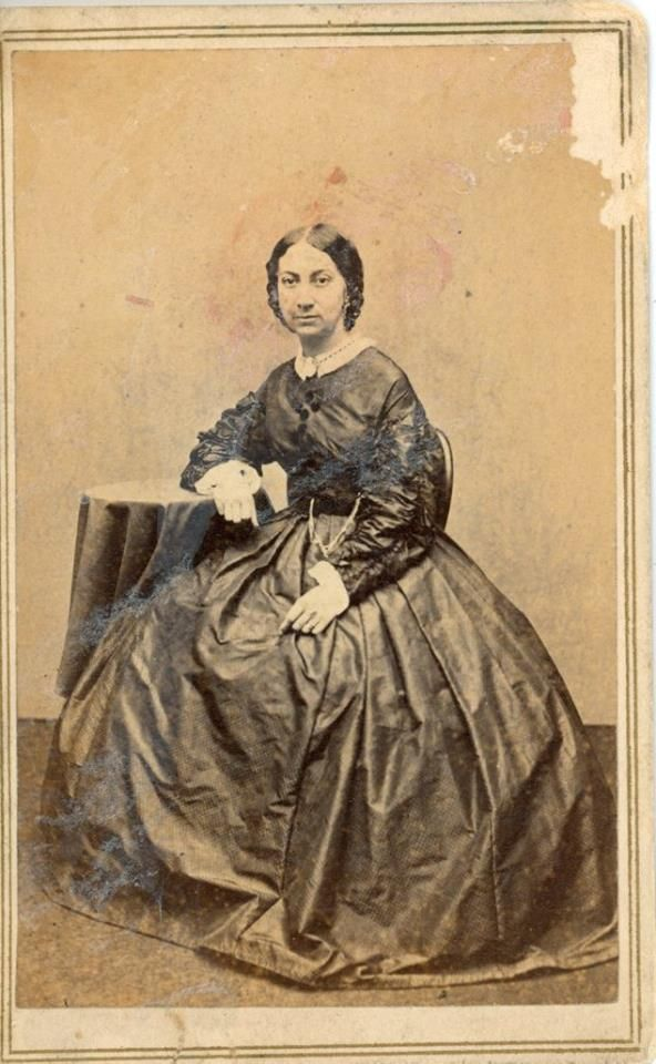 """""""Unknown"""" CDV Cabinet Card photo and the photographer is George F. Parlow, New Bedford, Massachusetts."""