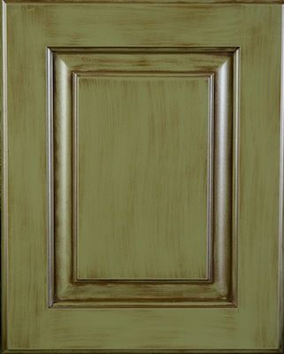 Elias Woodwork Painted Cabinet Door Egyptian Sage Lacquer