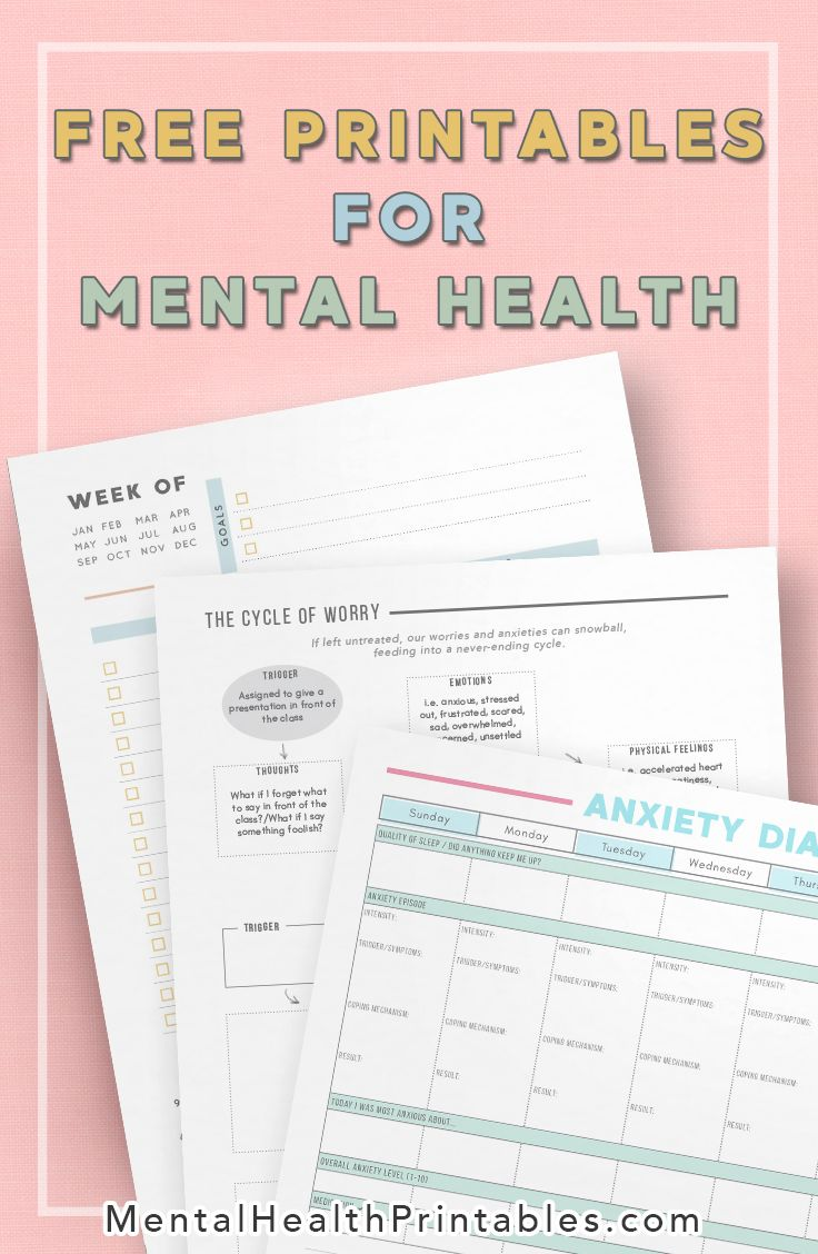 Pin On Mental Health Printables And Journaling Resources