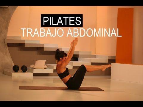 PILATES EN CASA - Ejercicio físico Para Tonificar y Adelgazar - YouTube