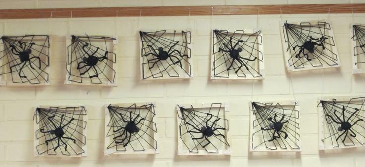Hämähäkinverkko ja hämähäkki