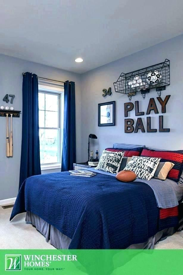 Sports Themed Boy Bedroom Sports Theme Boys Room Boy Sports Rooms