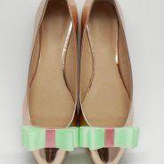 Kokardki Neon - klipsy do butów