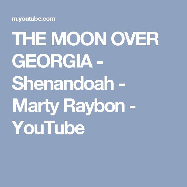 THE MOON OVER GEORGIA - Shenandoah - Marty Raybon - YouTube