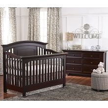 Baby Caché Windsor Lifetime Crib Espresso Baby Cache