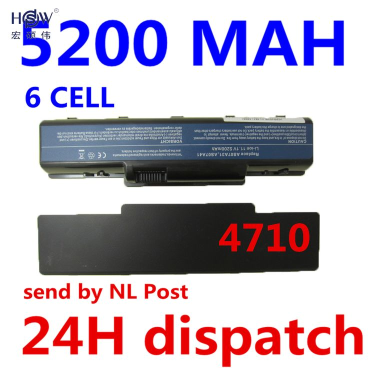 HSW 6cell Laptop Battery for Acer Aspire 4710 4720 5335Z 5338  5536 5542 5542G 5734Z 5735 5735Z 5740G 7715Z 5737Z 5738 Bateria #Affiliate