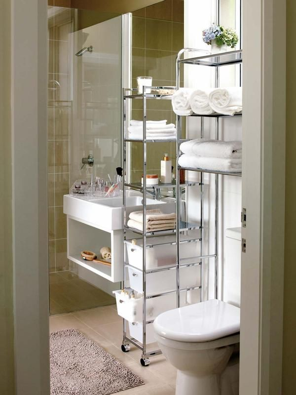 20 best home organisation images on pinterest for Banos pequenos bien aprovechados