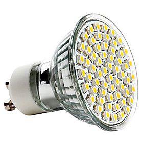 Ampoule Spot LED Blanc Chaud (220-240V), GU10 3.5W 350-400LM 2800-3200K