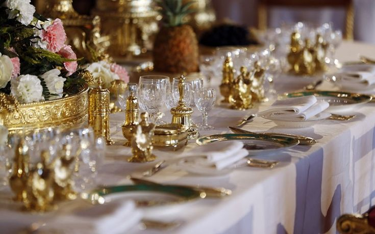 Royal Wedding Wednesdays Banquets and Tablescapes