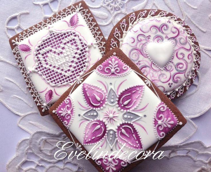 Purple cookies     http://blog.giallozafferano.it/evelindecora/