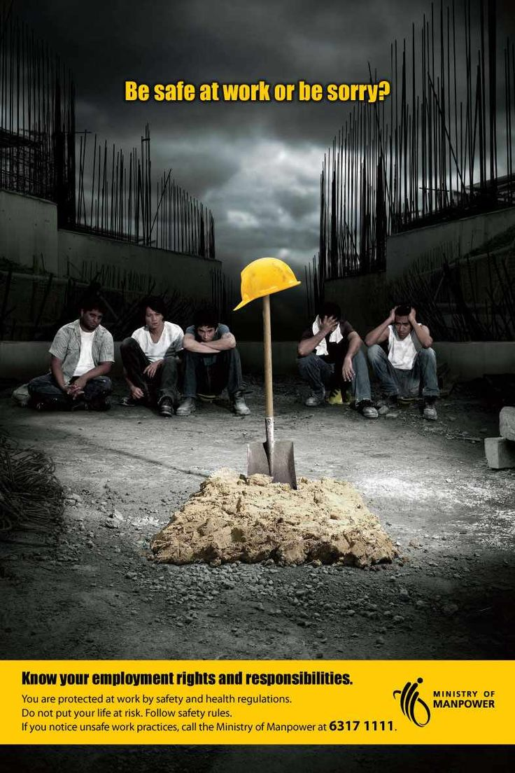 Ministry of Manpower Grave Ads of the World