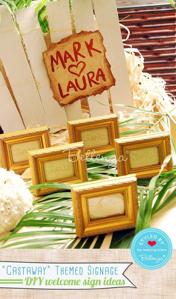 easy diy rustic wedding favors%0A DIY Ideas  Themed Welcome Signs for Casual Weddings  Diy Wedding  CraftsCasual WeddingRustic