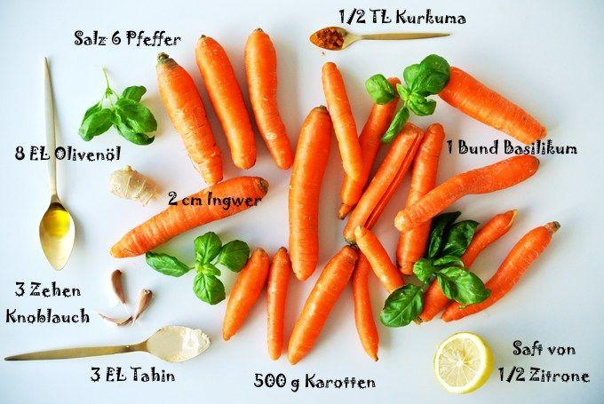 Gesunde Küche - alles Karotte! Ein TCM Rezept für die Bequemen!
