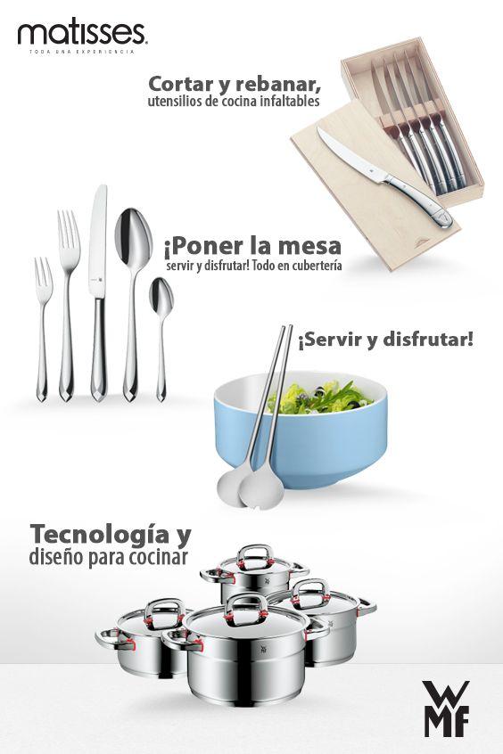 Ollas, cubertería y toda la tecnología de WMF podrás tener en cocina. Pronto en #MatissesComplementos