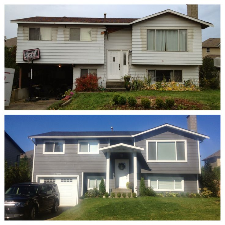 The Friesen Five Family: 31 Days to a Complete Home Renovation : Day 4 - ok will officially get grey siding
