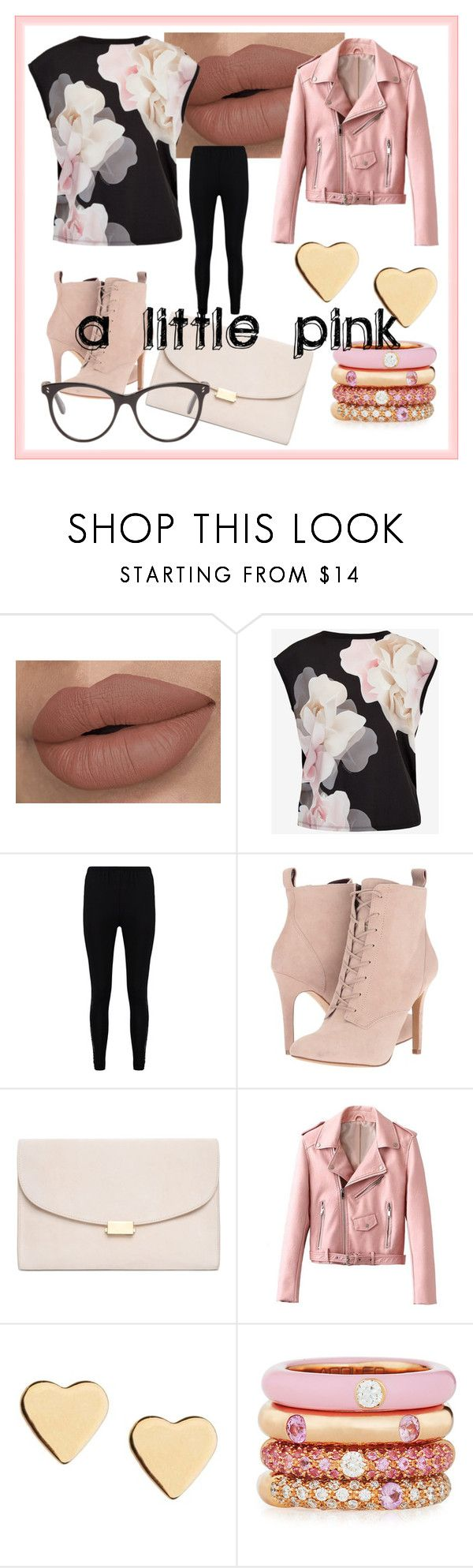 """Untitled #216"" by frupapp on Polyvore featuring Ted Baker, Boohoo, BCBGeneration, Mansur Gavriel, Lipsy, Adolfo Courrier, STELLA McCARTNEY and school"