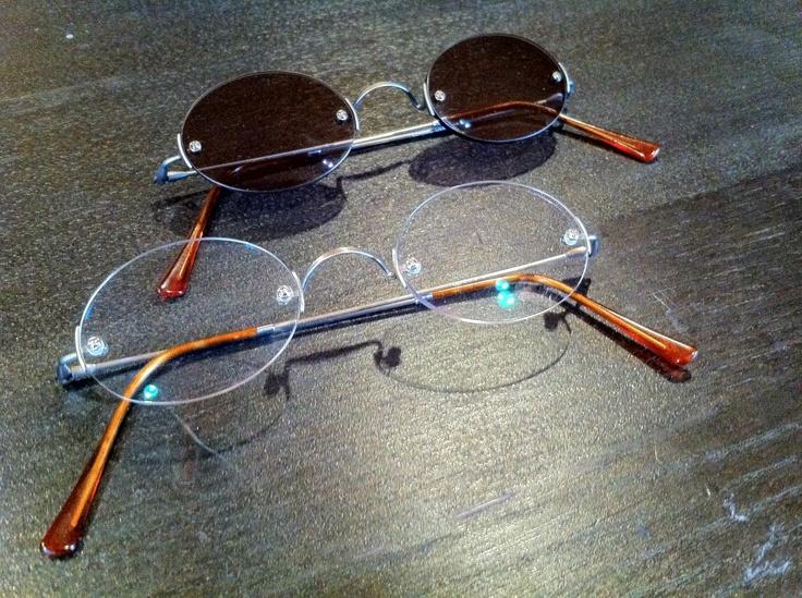 Lunor Classic Round Rimless Eyeglasses