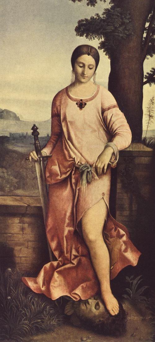 Giorgione Judith et Holopherne