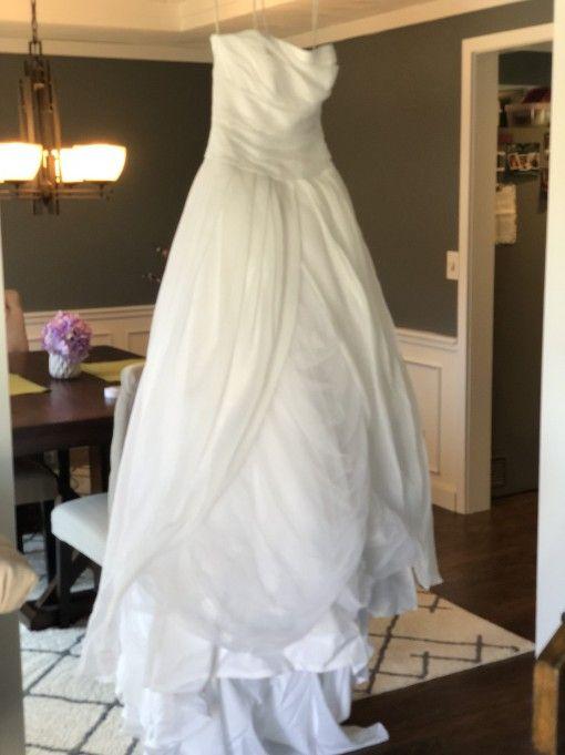 68e0e58cce52 Vera Wang VW351178 Size 6 Wedding Dress – OnceWed.com | Wedding dresses | Wedding  dresses, Dresses, Wedding
