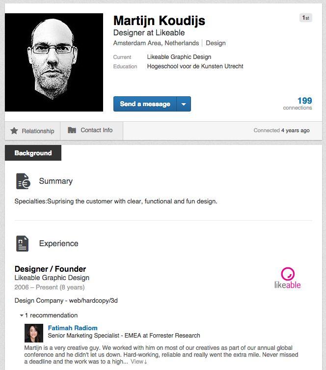 Martijn Koudijs, eigenaar van #LikeableDesign