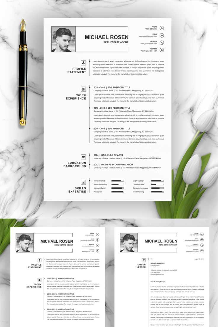 Michael Resume Template Resume template, Good resume