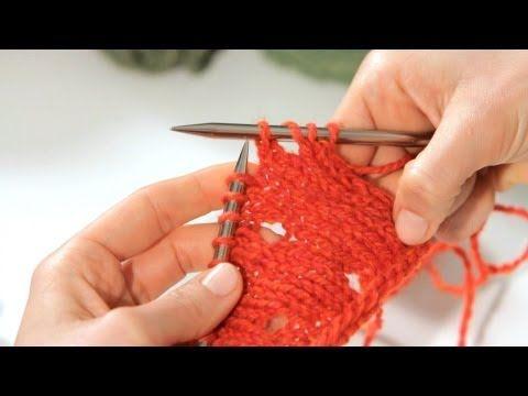 How to Do a Yarn Over | Knitting (double yo)