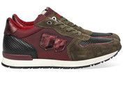 Zwarte/Bordeaux/Groene/Rode D'Acquasparta schoenen Botticelli sneakers