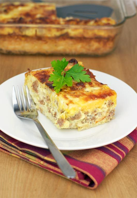 David Letterman's Favorite Breakfast Casserole    |     Save and organize favourites on your iPhone or iPad with @RecipeTin – without typing them in! Find out more here: www.recipetinapp.com      #recipes #breakfast #brunch
