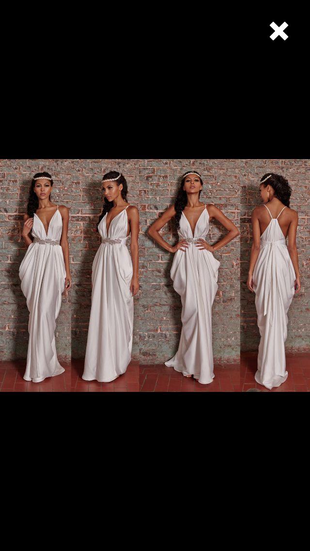 Wedding dress!! :) looove it! Sexy but simple