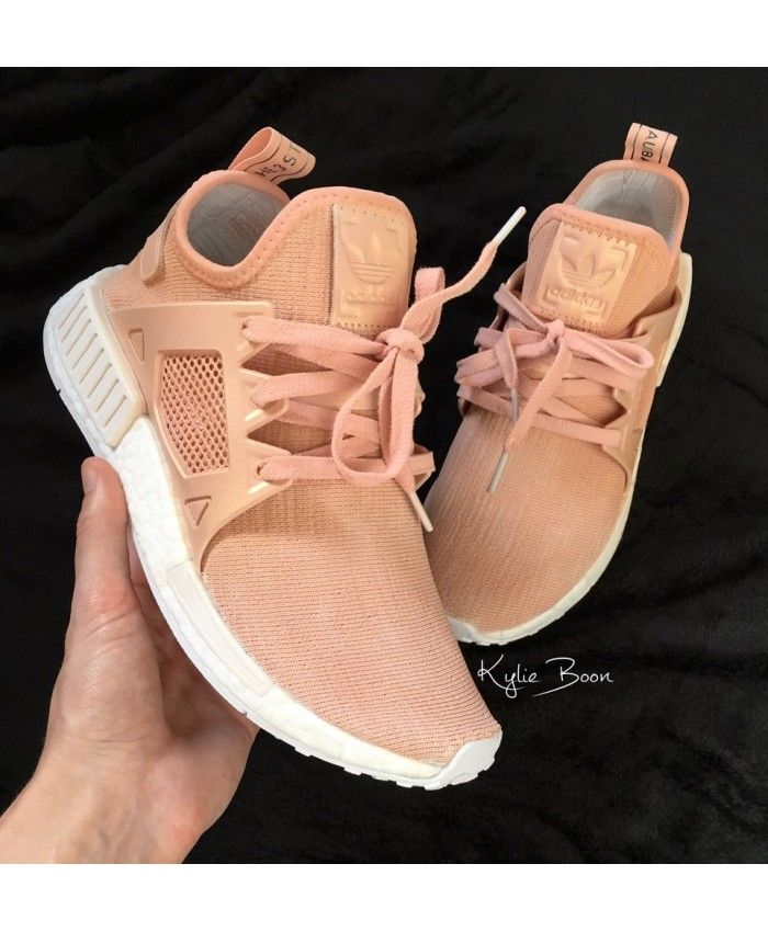 Cheap Adidas NMD XR1 Pearlescent Rose Gold Customs Trainers Sale Clearance