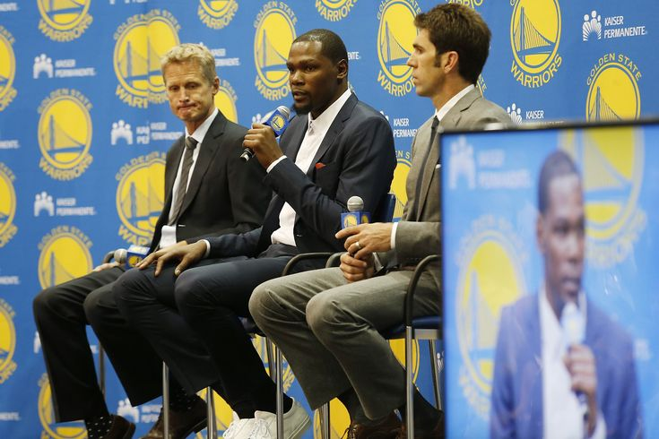 Warriors introduce Kevin Durant to Bay Area