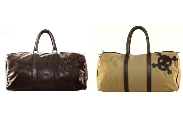 #Leather #travel #gym #bag: which one do you prefer? ① brown or ② beige?