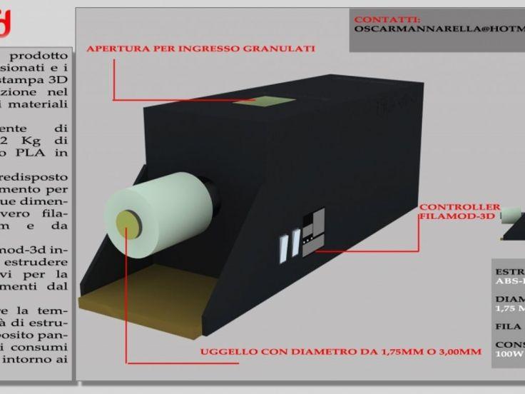 Filamod3D, un bel vantaggio per chi usa le stampanti 3D!