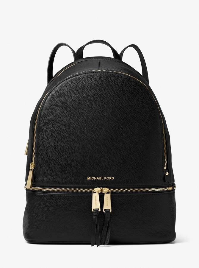 c4501d2df609 MICHAEL Michael Kors Rhea Large Leather Backpack #Handbagsmichaelkors