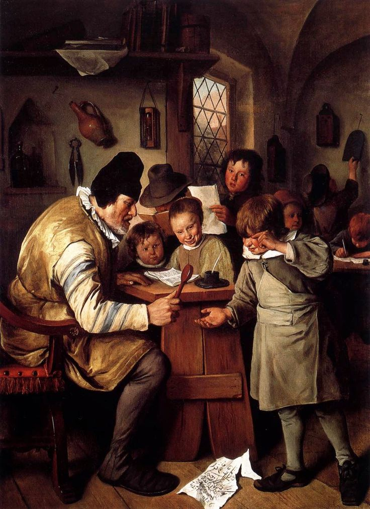 Jan Steen (Dutch, c. 1626-1679). Schoolmaster, 1665. National Gallery, Dublin