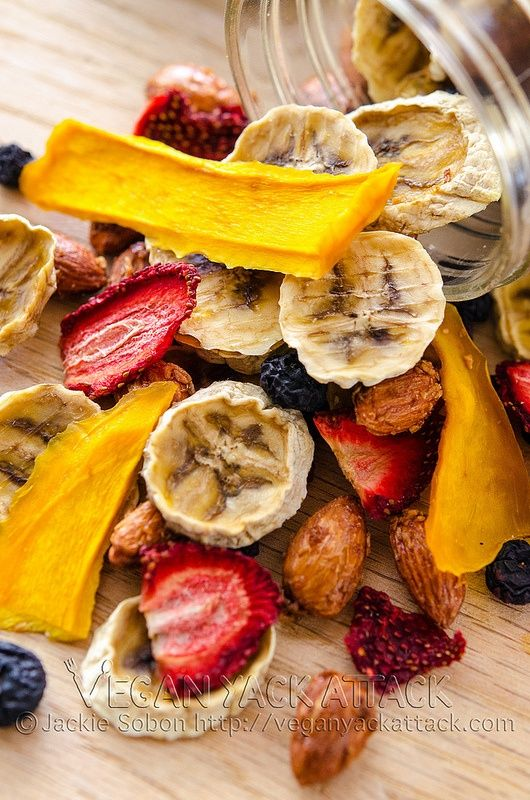 Tropical Trail Mix from Vegan Yack Attack!