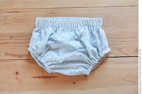 Le tuto de la culotte bouffante pour bébé
