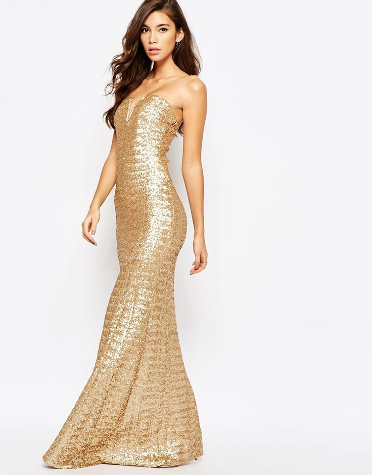 Very reasonably priced.  Not sure if it's too much though? TFNC Showstopper Sequin Maxi Dress